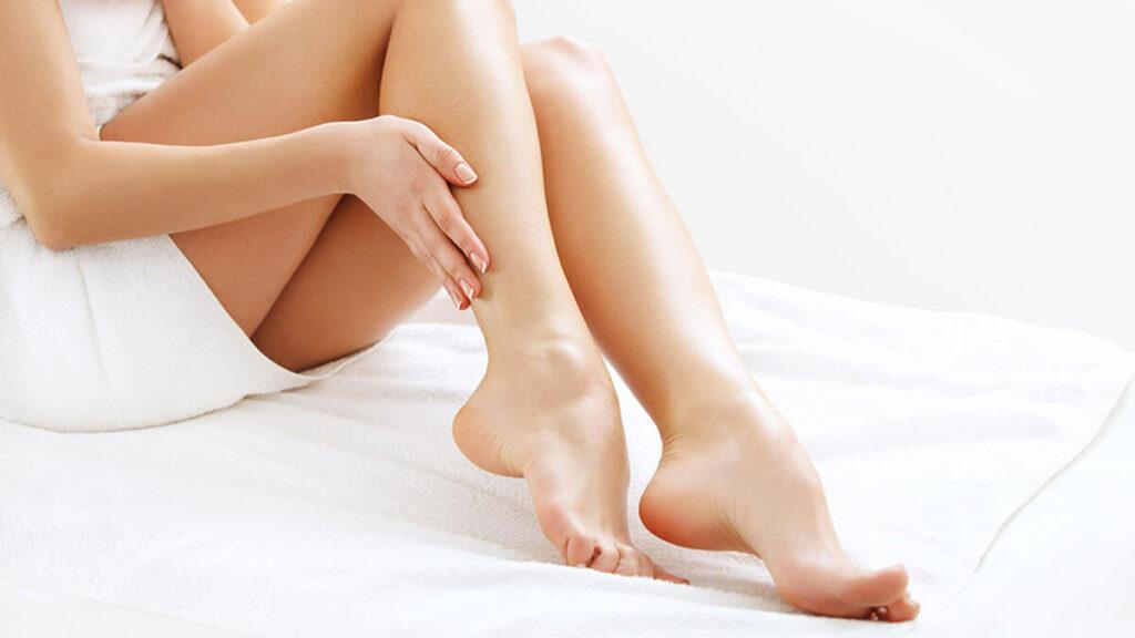 Realitza massatges a les teves cames