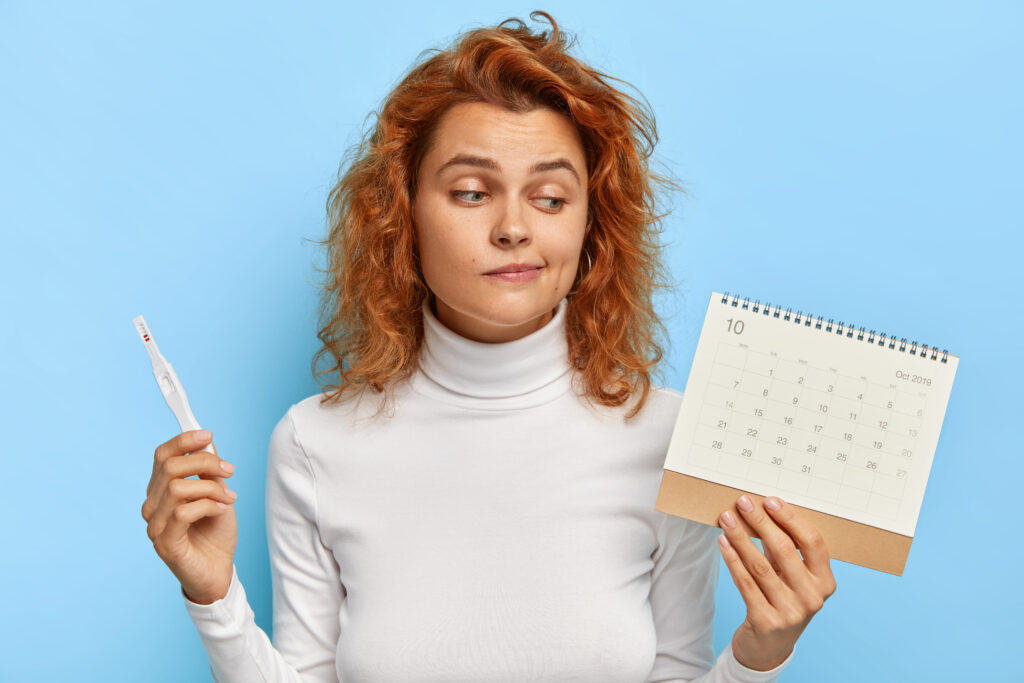 Calendariza tu ciclo mentrual.
